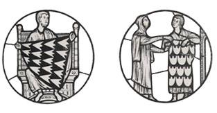 Medaillons Kürschnerhandwerk
